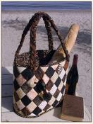 Diamond Island Tote sewing pattern from Aunties Two 2