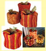 Festive Pumpkins sewing pattern from Aunties Two 2