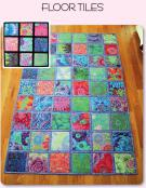 Floor Tiles sewing pattern from Aunties Two 2