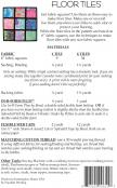 Floor Tiles sewing pattern from Aunties Two 1