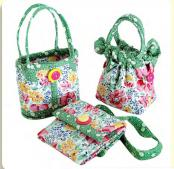 Mini Bags sewing pattern from Aunties Two 2