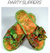 Party Slippers sewing pattern from Aunties Two 2
