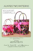 Rockport Carryalls sewing pattern from Aunties Two