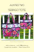 Sebago Tote sewing pattern from Aunties Two