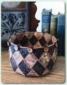 Woven Spirals basket sewing pattern from Aunties Two 2