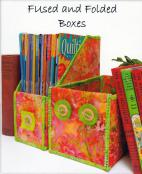 Fused and Folded Boxes sewing pattern from Aunties Two 2