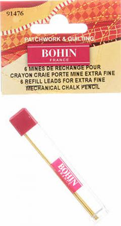Fabric-Chalk-Mechanical-Pencil-Bohin-Refill-Yellow
