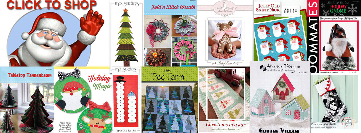 Christmas sewing ideas banner
