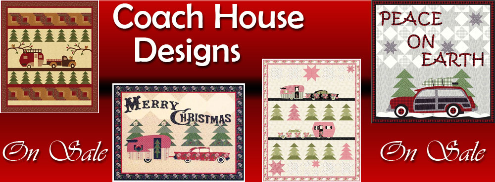 Coach House sewing patterns banner