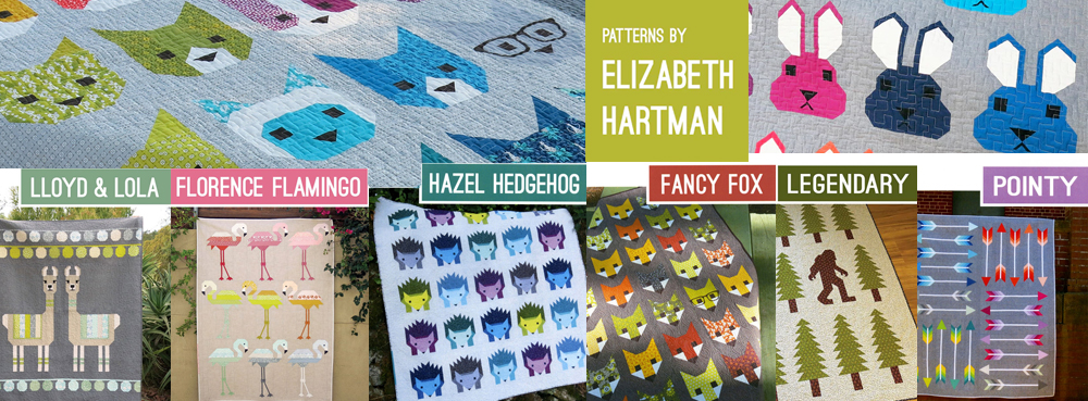 Elizabeth Hartman Quilt Patterns Banner