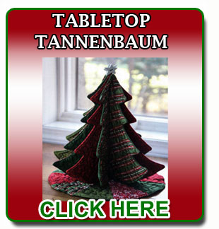 Tall Trim The Tree sewing pattern click to view