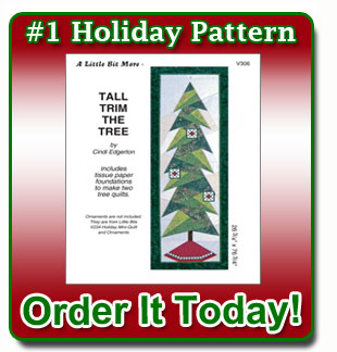 Holiday sewing pattern