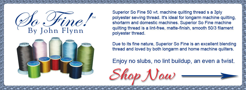Superior So Fine Thread Banner