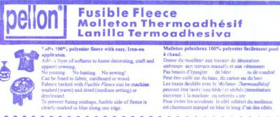 Pellon Fusible Fleece #987F -- 45