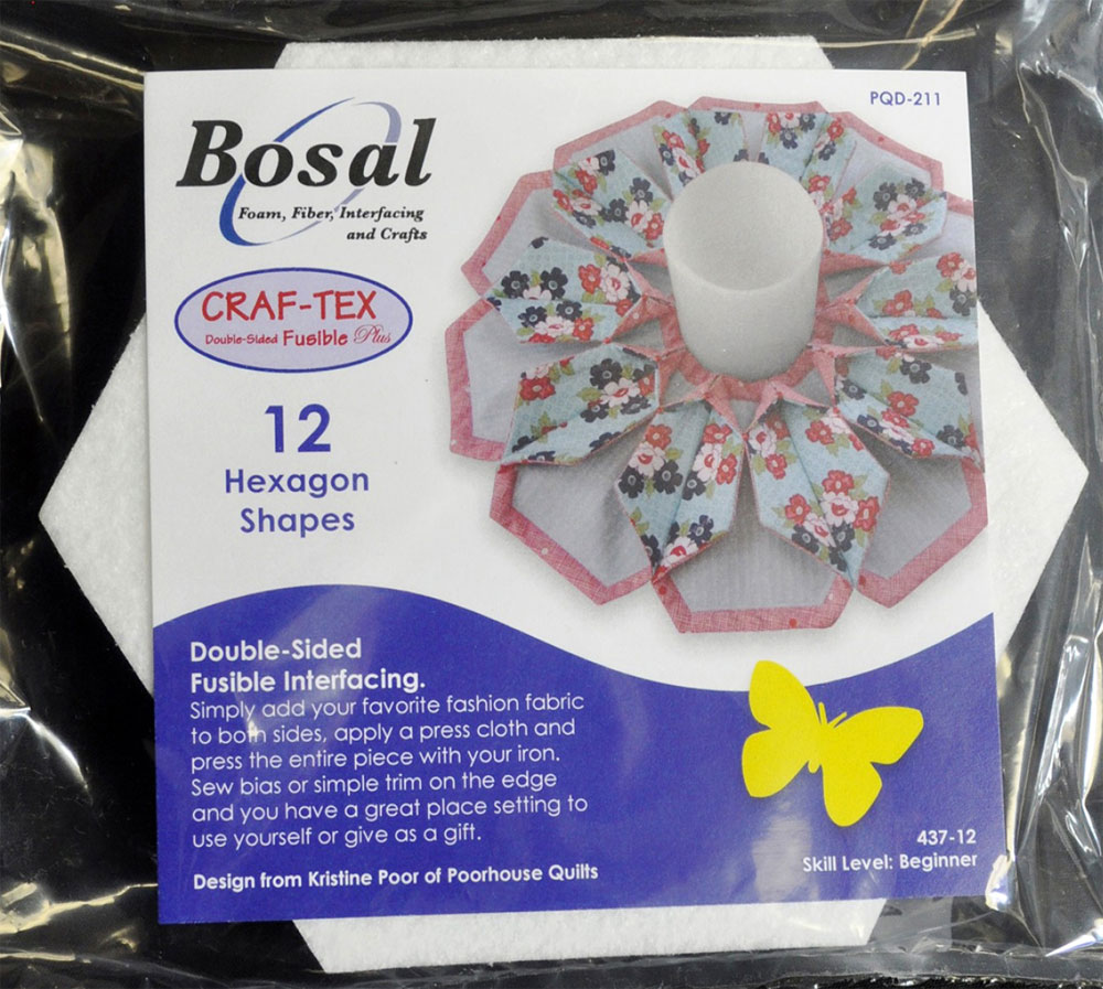 Hexagon-Shapes-Fusible-Interfacing-Bosal-1