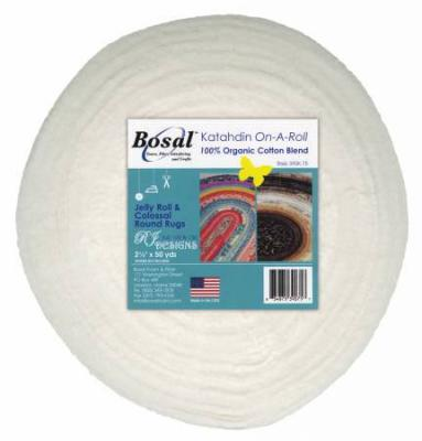 Katahdin On A Roll - 2.5 inch wide x 50yds White from Bosal