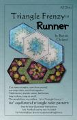 Triangle Frenzy Runner sewing pattern from Bunnie Cleland