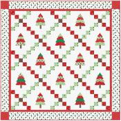 Patchwork Pines for Christmas sewing pattern from Bunny Hill Designs 2