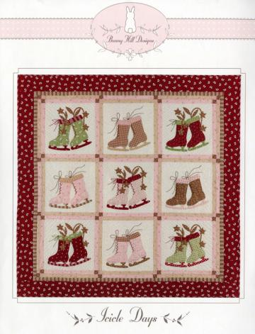 Icicle Days quilt sewing pattern from Bunny Hill Designs