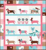 Doxie Dog quilt sewing pattern from Bunny Hill Designs 2