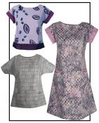 Quick & Easy Tee, Tunic, and Dress Sewing Pattern from CNT 2