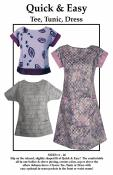 Quick & Easy Tee, Tunic, and Dress Sewing Pattern from CNT