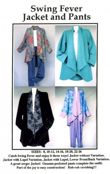 Swing Fever Jacket and Pants pattern from CNT