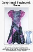 Xceptional Patchwork dress pattern from CNT