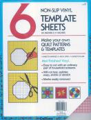 CLOSEOUT...Collins NonSlip Vinyl Template Sheets - 6  8.5