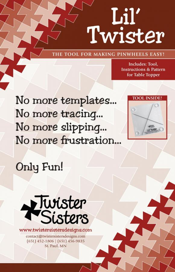 Lil Twister Pinwheel from Twister Sisters front cover