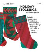 INVENTORY REDUCTION...Little Bits - Holiday Stockings sewing pattern from Cindi Edgerton