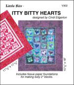 Little Bits - Itty Bitty Hearts sewing pattern from Cindi Edgerton