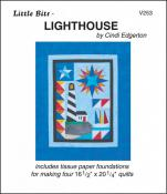 Little Bits - Lighthouse quilt sewing pattern from Cindi Edgerton