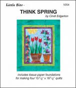 Little Bits - Think Spring quilt sewing pattern from Cindi Edgerton