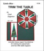 Little Bits - Trim The Table sewing pattern from Cindi Edgerton