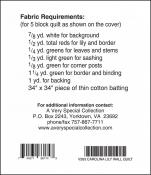 Little Bits - Carolina Lily quilt sewing pattern from Cindi Edgerton 1
