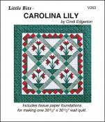 Little-Bits-Carolina-Lily-quilt-sewing-pattern-Cindi-Edgerton-front