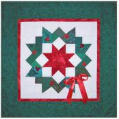 Little Bits - Carpenters Wreath Holiday quilt sewing pattern from Cindi Edgerton 2