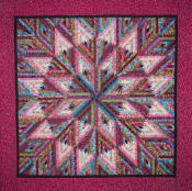 Little Bits - Diamond Log Cabin quilt sewing pattern from Cindi Edgerton 3