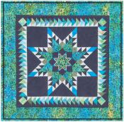 Little Bits - Doubled Feathered Star quilt sewing pattern from Cindi Edgerton 2