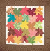 Little Bits - Fallen Leaves quilt sewing pattern from Cindi Edgerton 2