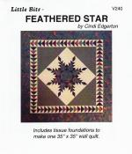 Little-Bits-Feathered-Star-quilt-sewing-pattern-Cindi-Edgerton-front