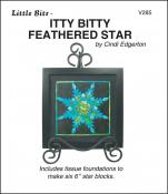 Little Bits - Itty Bitty Feathered Star quilt sewing pattern from Cindi Edgerton