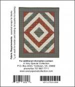 Little Bits - Little Logs quilt sewing pattern from Cindi Edgerton 1