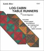 Little Bits - Log Cabin Table Runner sewing pattern from Cindi Edgerton
