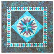 Little Bits - Mariners Compass quilt sewing pattern from Cindi Edgerton 2