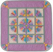 Little Bits - Milady's Fan quilt sewing pattern from Cindi Edgerton 2