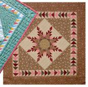 Little Bits - Mini Feathered Star quilt sewing pattern from Cindi Edgerton 2