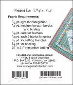 Little Bits - Mini Feathered Star quilt sewing pattern from Cindi Edgerton 1