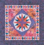 Little Bits - Mini Mariners Compass quilt sewing pattern from Cindi Edgerton 2